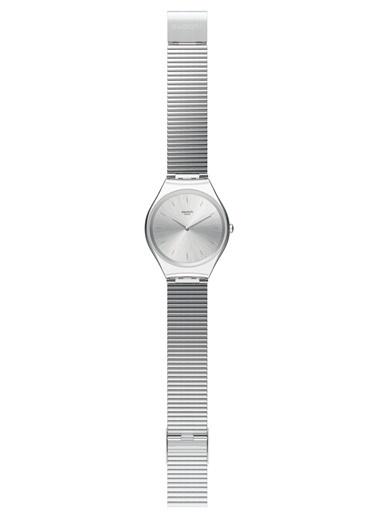 Swatch SYXS103GG (Ø 38 MM) Bayan Kol Saati Gri